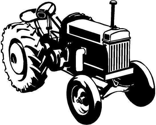 For Your Consideration Is A Die Cut Vinyl Tractor Decal Available In
