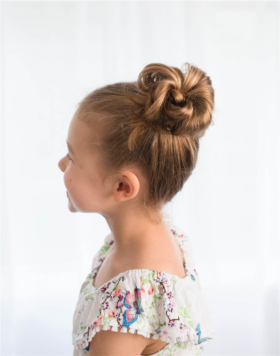 fast easy cute hairstyles for girls pinterest bun hairstyle