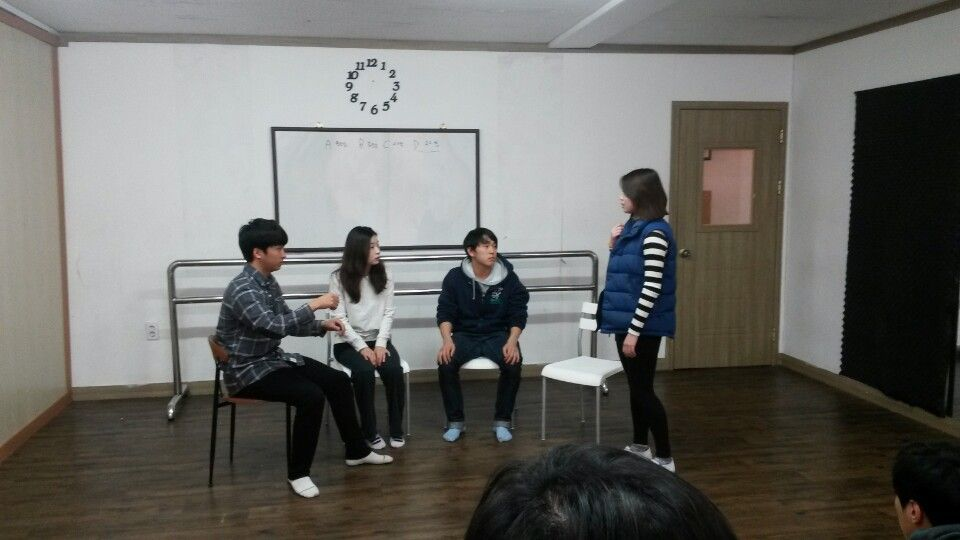 입시반 수업 #acting