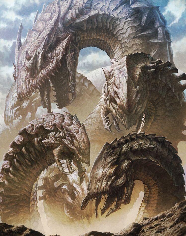 Sand Hydra Fantasy Beasts Fantasy Dragon Fantasy Creatures