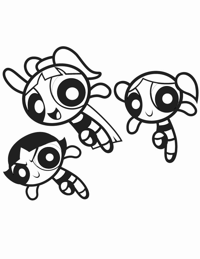 Powerpuff Girl Coloring Book Unique Free Printable