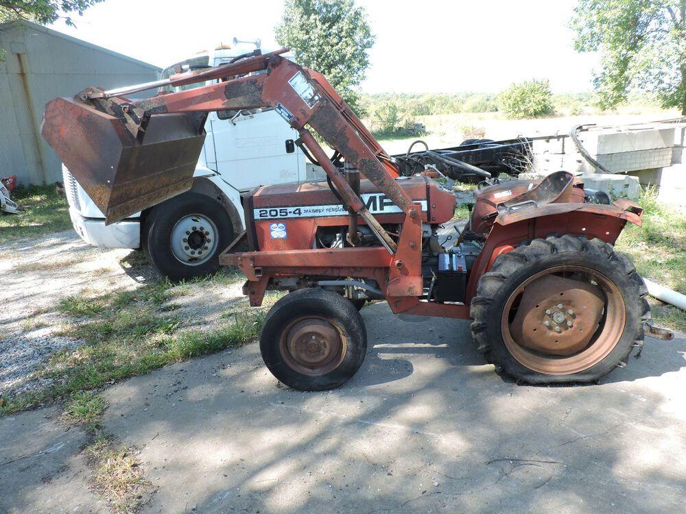 Massey Ferguson 205-4 garden tractor parts  Selling parts
