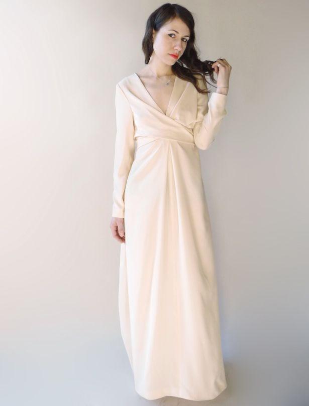 Bohemian Blush Maxi Dress | Sewing patterns, Dress sewing and Wrap ...