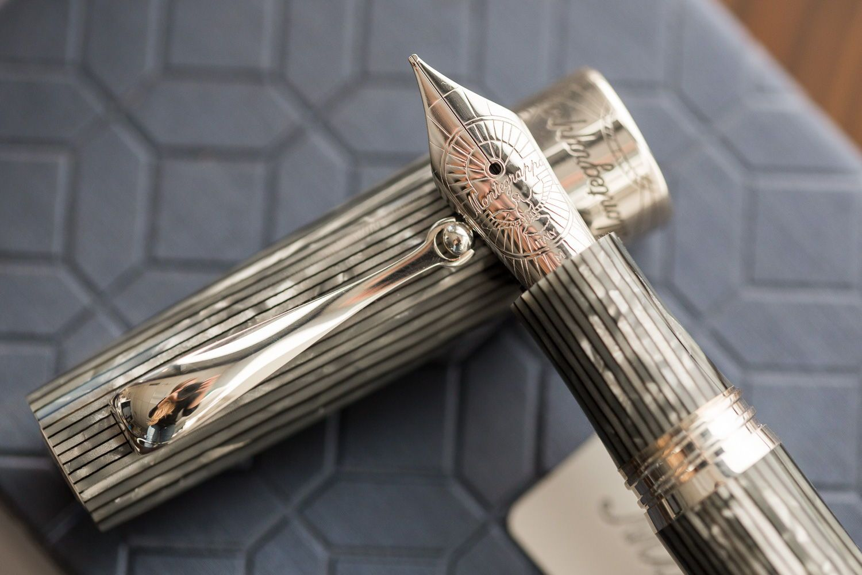 1ac9e9f2b9 Montegrappa Extra 1930 Fountain Pen - Shiny Lines   Dove (Limited ...