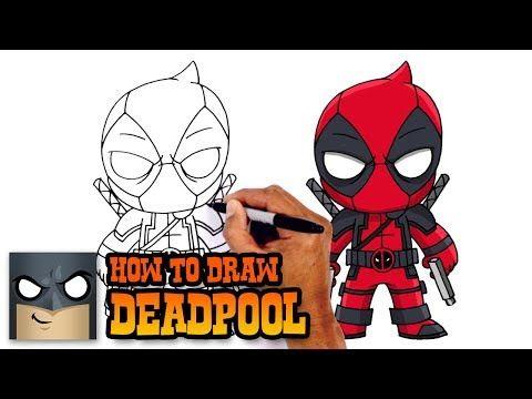 how to draw deadpool deadpool 2 youtube