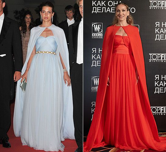 Sarah Jessica Parker Wedding Gown: Sarah Jessica Parker Looks Princess Perfect In Charlotte's