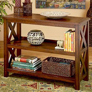 World Market Verona Two Shelf Bookcase
