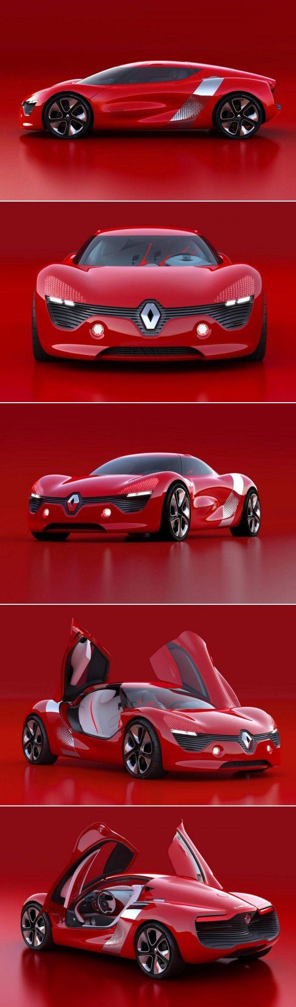 #DeZir ~ el concept electrico de #Renault