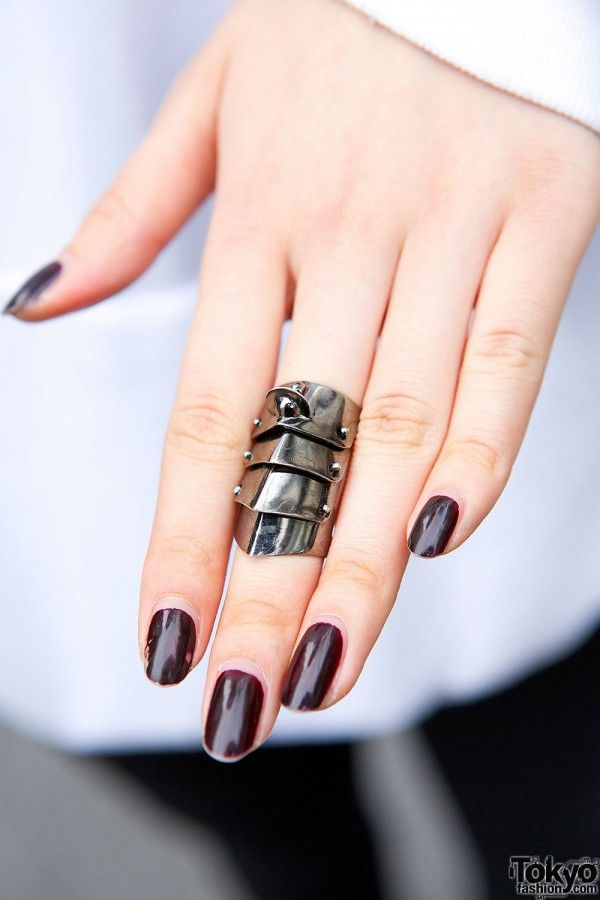 short armour knuckle ring - Metallic Vivienne Westwood