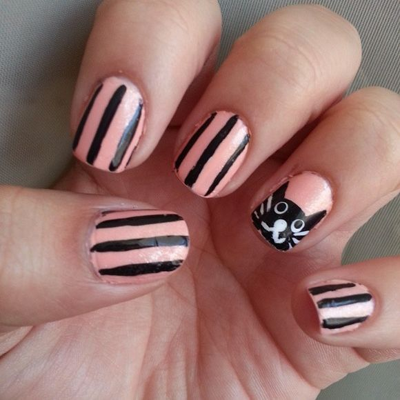 MEOW 40 Kitty Cat Nail Designs photo Callina Marie\'s photos | Nails ...