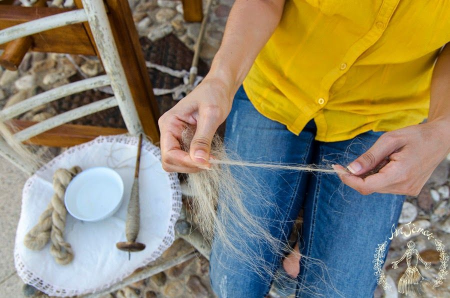 Lavorazione del lino
