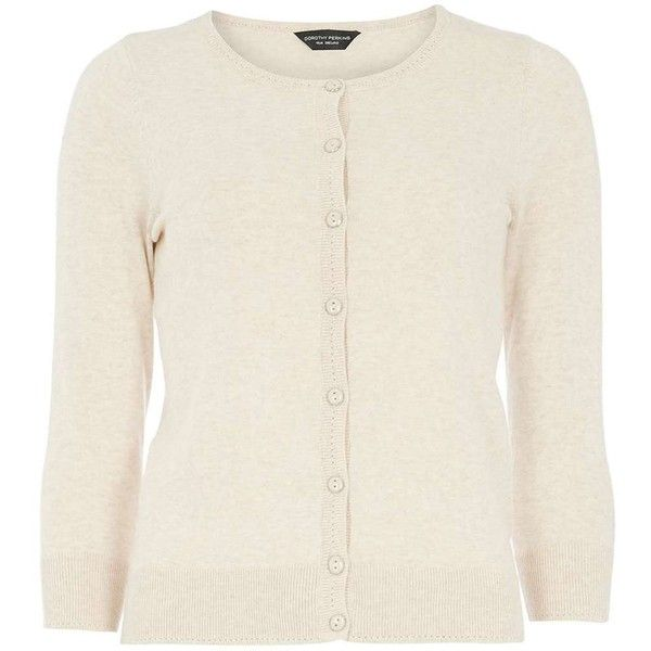 Dorothy Perkins Oat Cotton Cardigan (€18) ❤ liked on Polyvore featuring tops, cardigans, oatmeal, cotton cardigan, cardigan top, beige top, beige cardigan and dorothy perkins