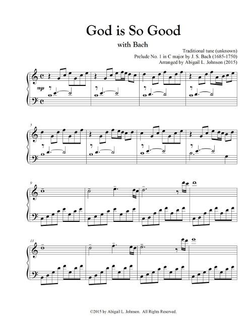 This Classical Hymn Arrangement Combines The Flowing Arpeggios Of