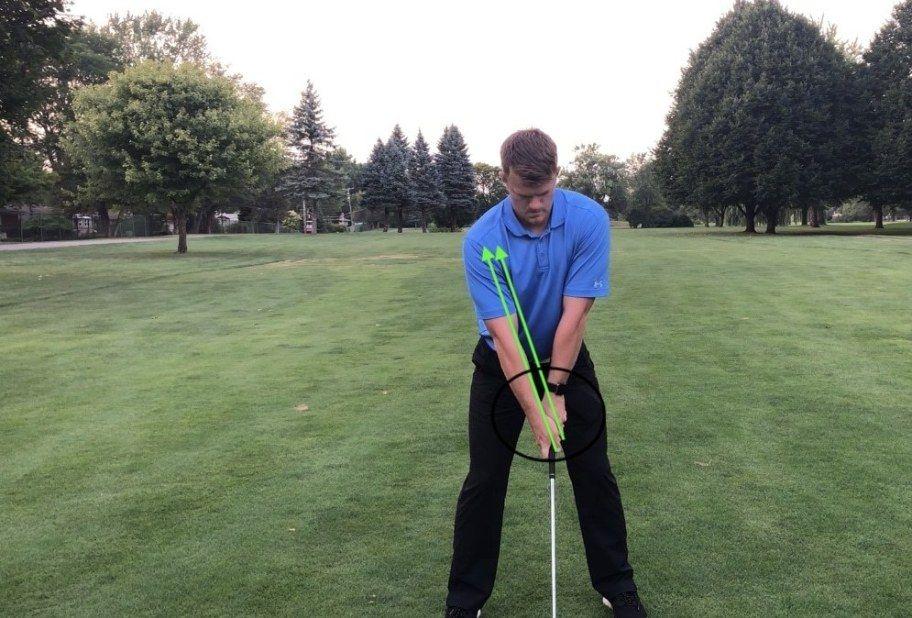 grip position Golf swing, Golf, Swing
