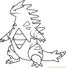 Resultado De Imagen Para Tyranitar Pokemon Sketch Pokemon Drawings Drawings