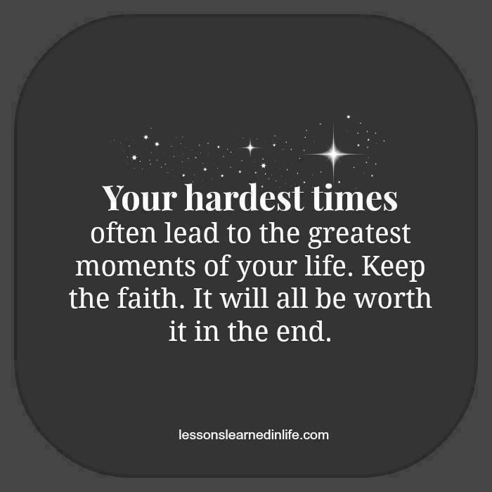Hard Life Inspirational Quotes: Going Through Hard Times....