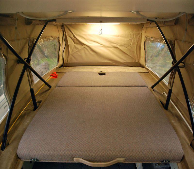 Sportsmobile Upper Bed Sportsmobile Pickup Camper
