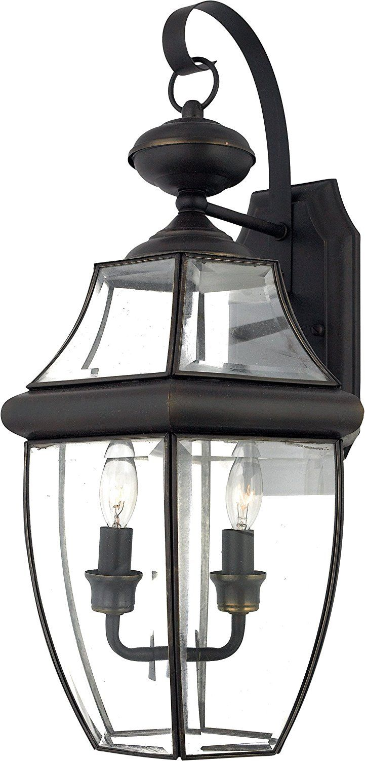 Quoizel NY8317K Newbury 2Light Outdoor Wall Lantern