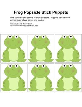 frog finger puppet template.html