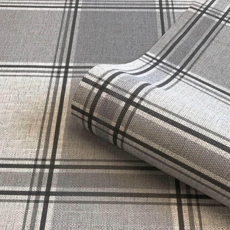Belgravia Giorgio Check Wallpaper Wallpaper Gb8101 In 2020 Silver Grey Wallpaper Grey Check Wallpaper Luxury Wallpaper