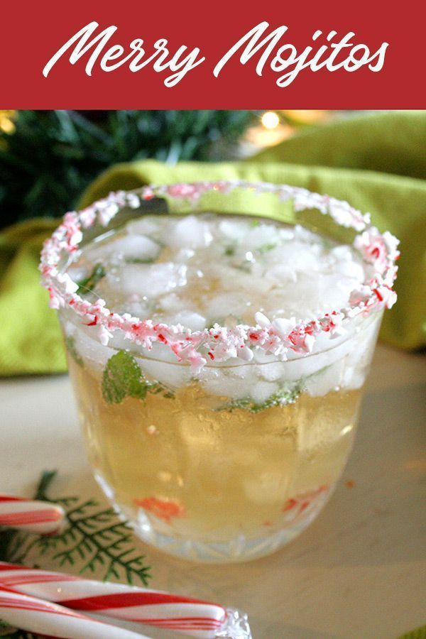 Photo of Merry Mojito,  #ChristmasPartycocktails #Merry #Mojito