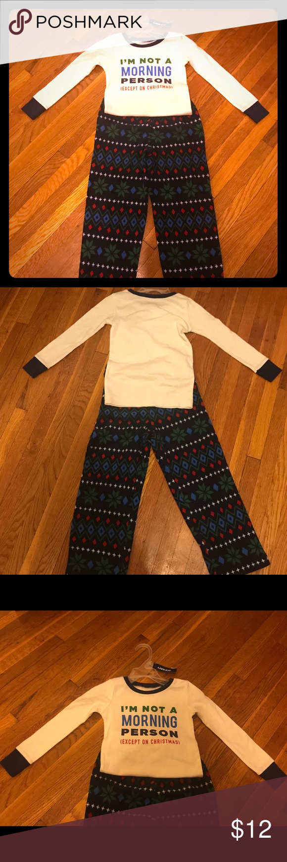 HP*Old Navy Kids\' Christmas Pajamas, Size 4T, NWT Old Navy Kid\'s ...