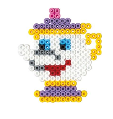 mama zip  - Bella and  the Beast / hama perler beads