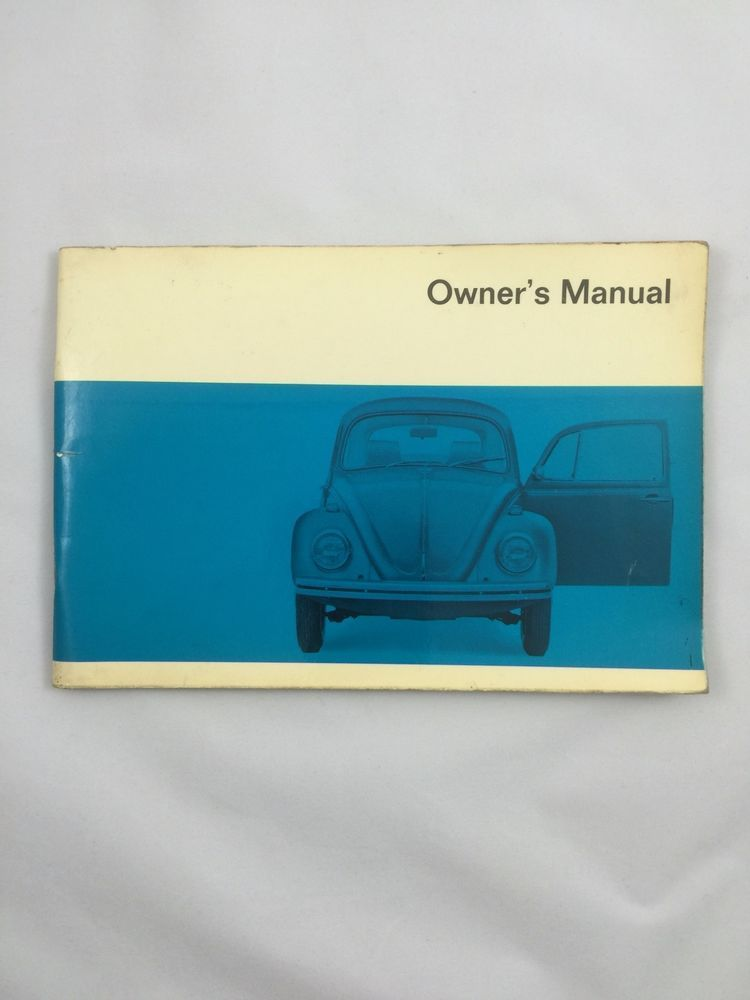 1970 vw volkswagen beetle owners manual original american muscle rh pinterest com vw beetle owners manual free vw beetle owners manual 2002