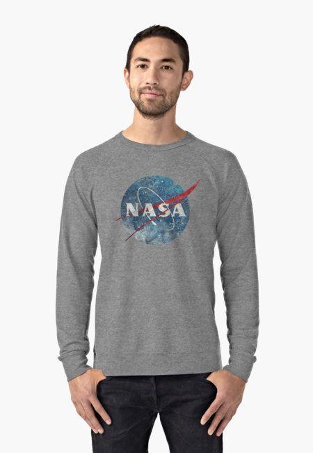 Sudadera ligera 'NASA Space Agency Ultra-Vintage' de Lidra ...