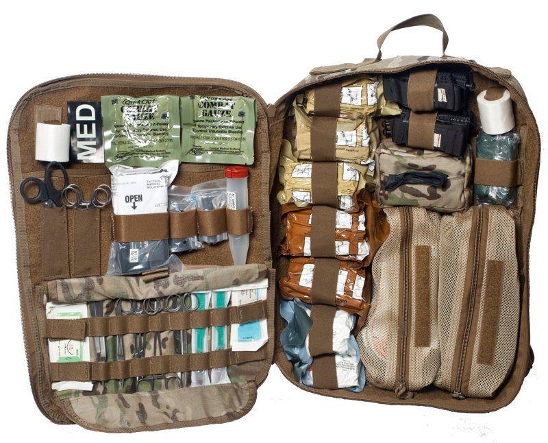 Advanced Survivor Any Mission Bag Comp Pack Stocked Basic