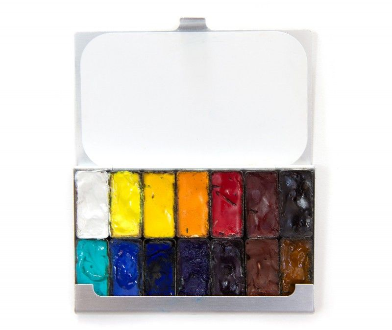 Pocket Palette With Magnetic Pans Expeditionary Art Maria