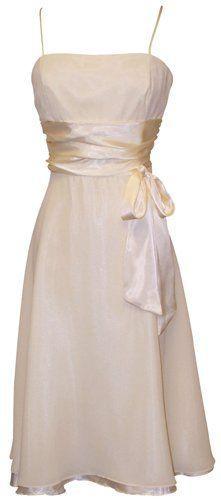 Chiffon Satin Dress Prom Formal Bridesmaid Holiday Party Coc