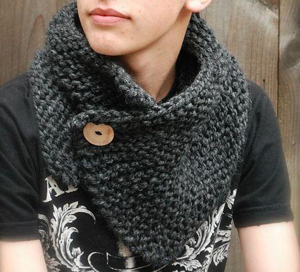 Snood tricoté - beabidouilles  Inspiration Mondial Tissus  C est la mode du  snood, alors lancez-vous ! 86272f02e73