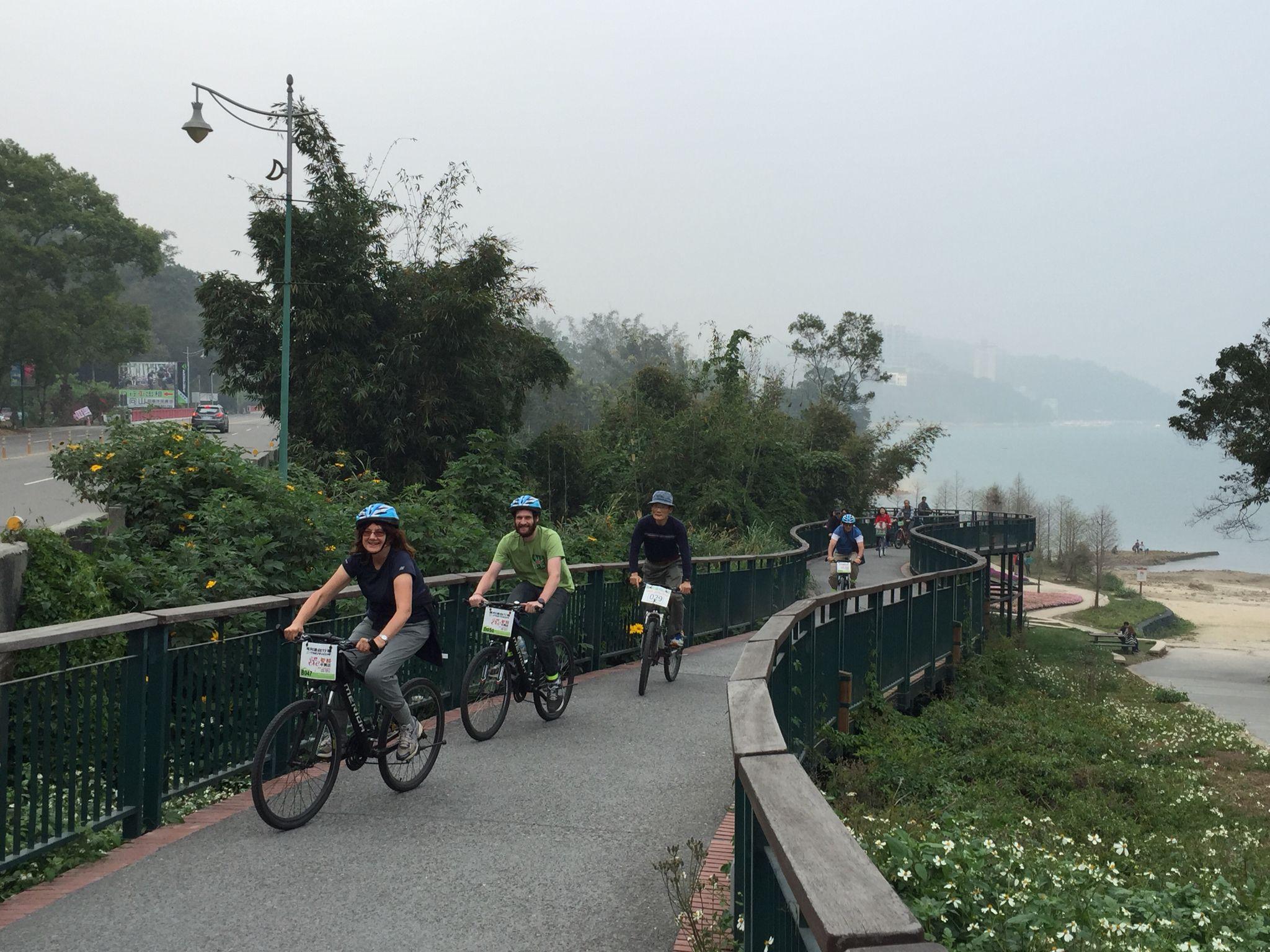 Sun moon lake bike tour