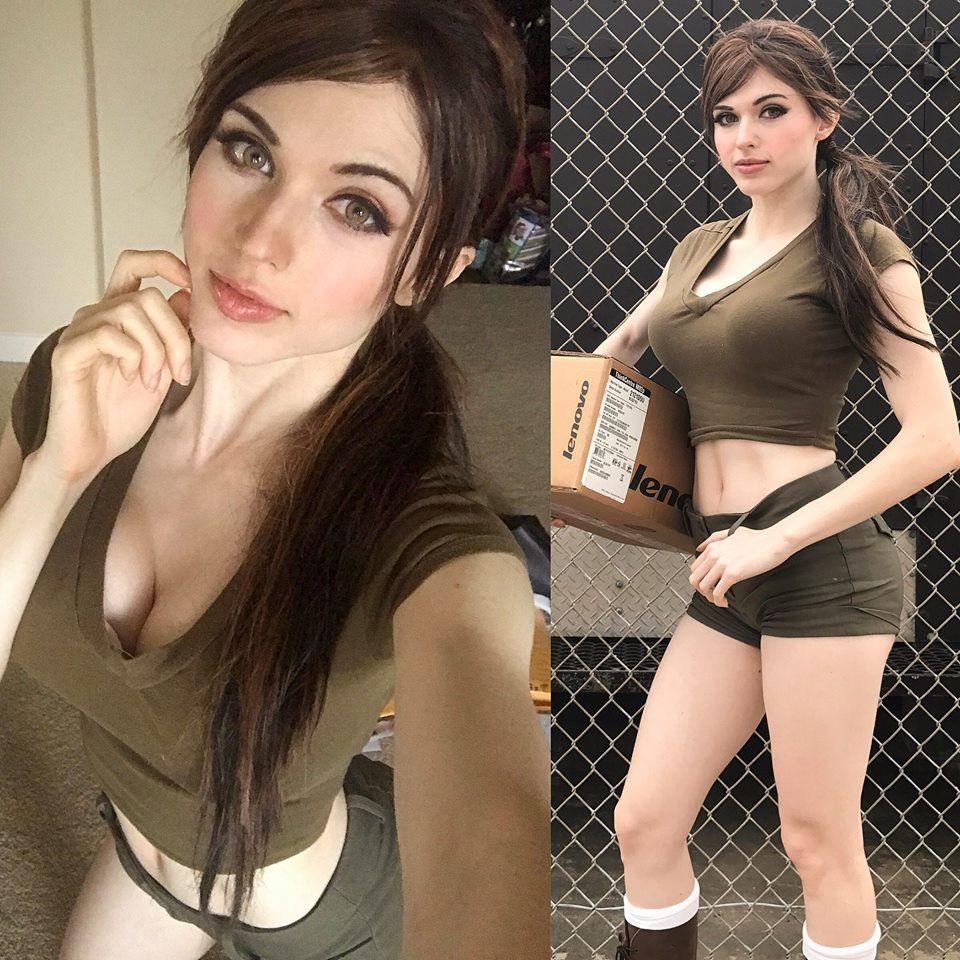 Lara Croft By Amouranth Kaitlyn Siragusa Lara Croft Cosplay