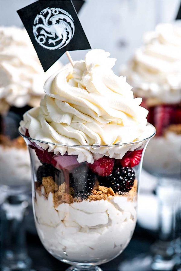 game of thrones party parfaits have your game of thrones viewing