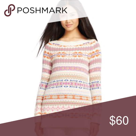 Ralph Lauren Fair Isle Sweater Warm multicolored sweater Lauren Ralph Lauren Sweaters