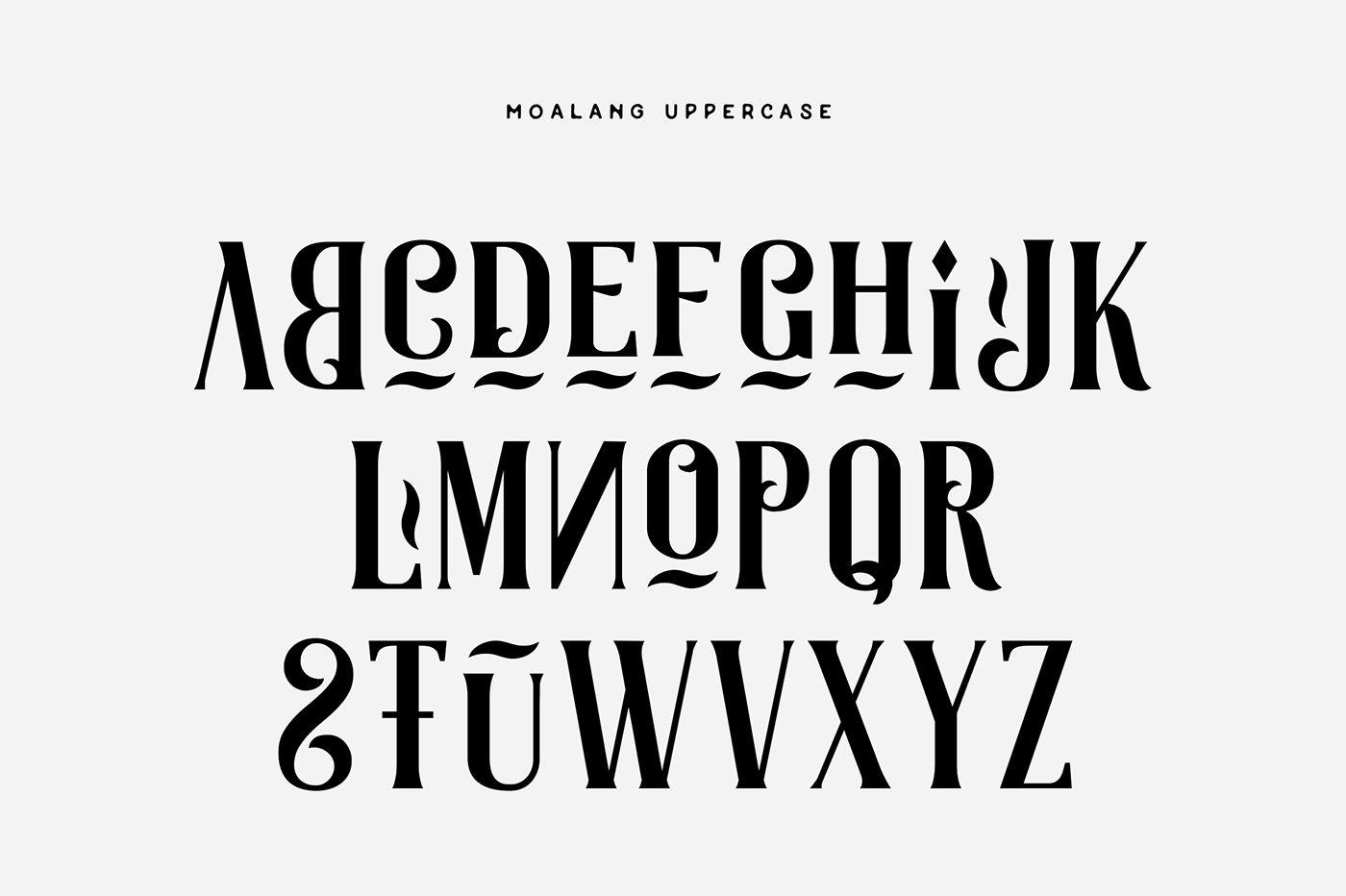 Moalang Free Font on Behance