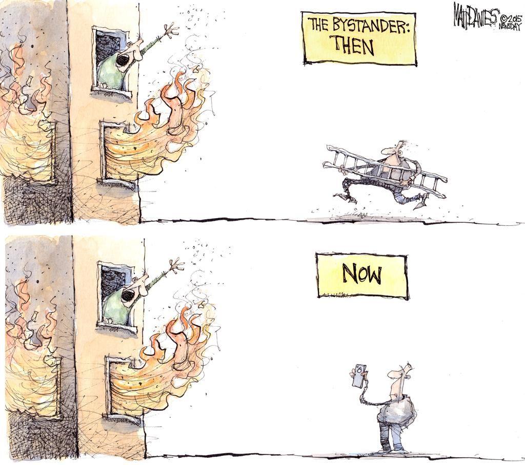 the bystander then now matt davies cartoons cartoon