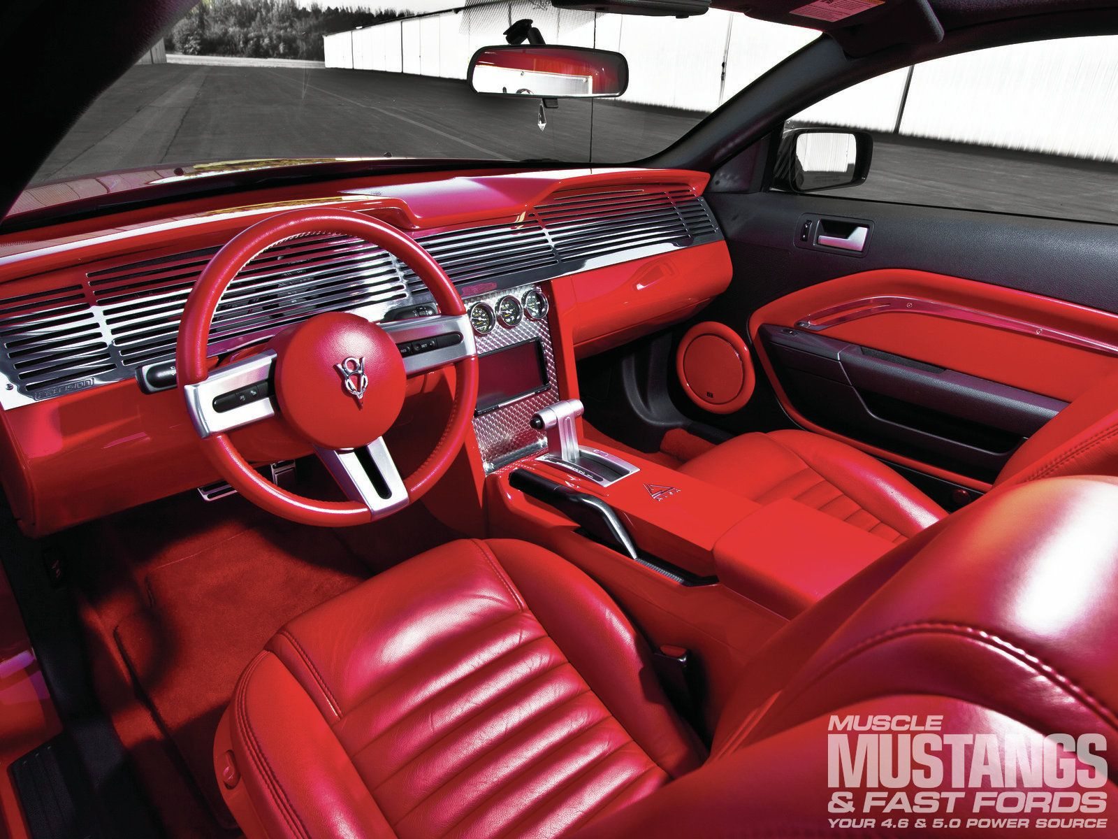 Custom mustang interior 2006 ford mustang gt interior interesting things pinterest 2006 - Interior ford mustang ...