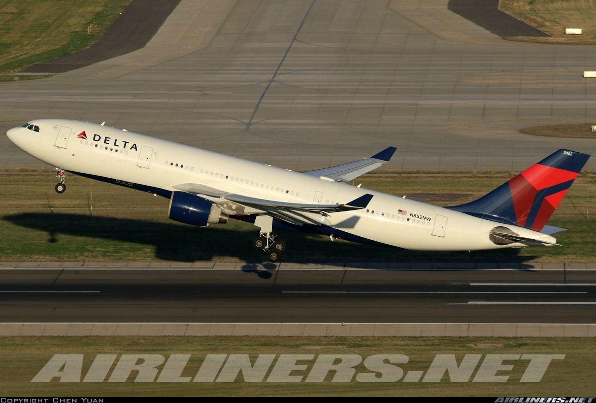 Airbus A330223 Delta Air Lines Aviation Photo