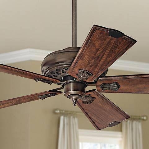 60 Casablanca Fellini Cocoa Ceiling Fan 3f828 Lamps Plus Ceiling Fan Antique Ceiling Fans Rustic Ceiling Fan