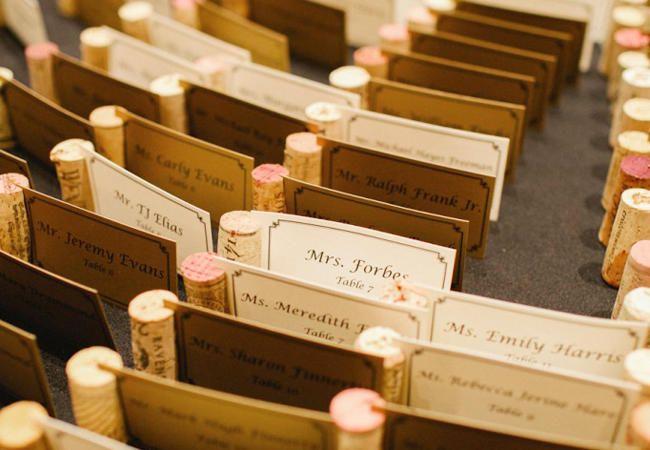11 Ways To Turn Wine Corks Into Wedding Decor | TheKnot.com