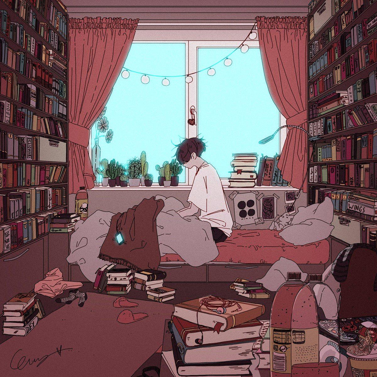 Aesthetic Anime Vibe Room Novocom Top