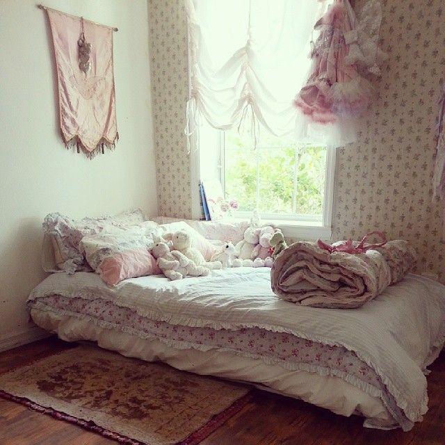 Shabby Chic Girls Room - Instagram @Tausha Houck Salat Shabby