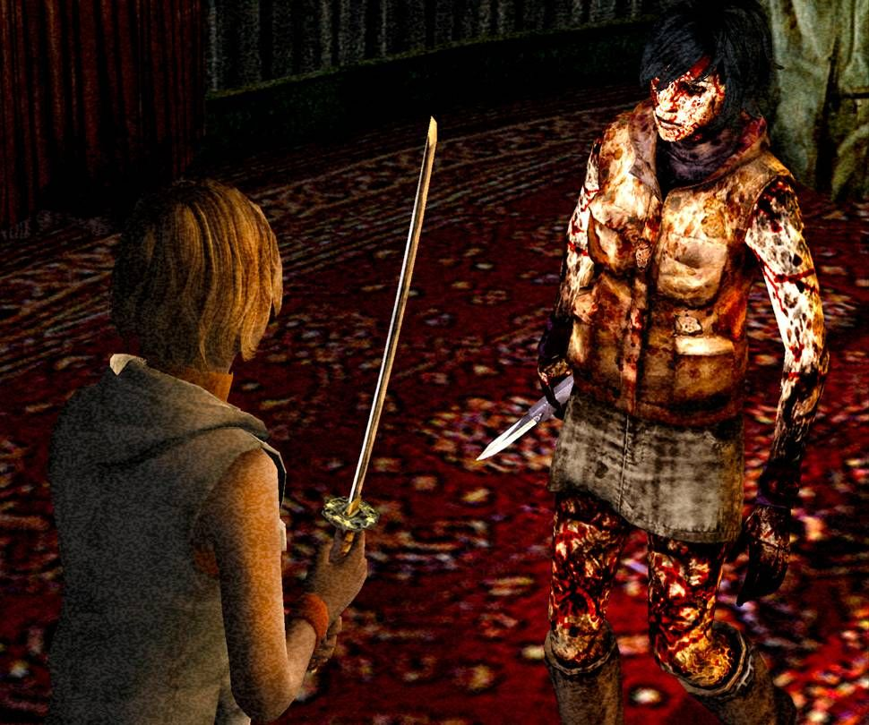 Fighting One S Weaker Self Silent Hill 3 Jogos