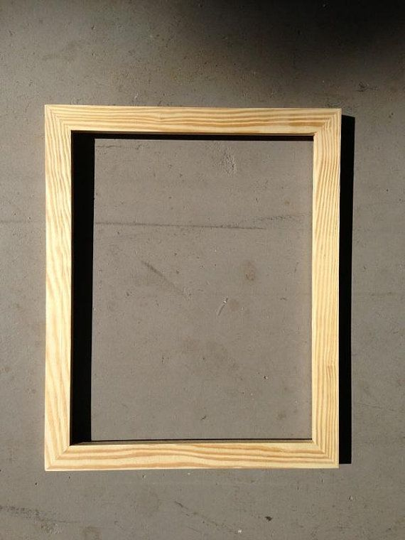 9x13 Custom Oak Frame, RESERVED FOR TINA | Pine, Woods and Wood colors