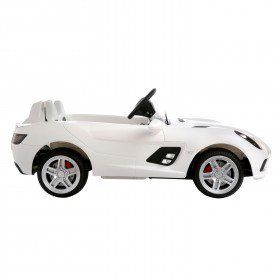 Aosom 12V Mercedes Benz SLR McLaren Convertible Kids Electric Ride On Car  With MP3 And Remote