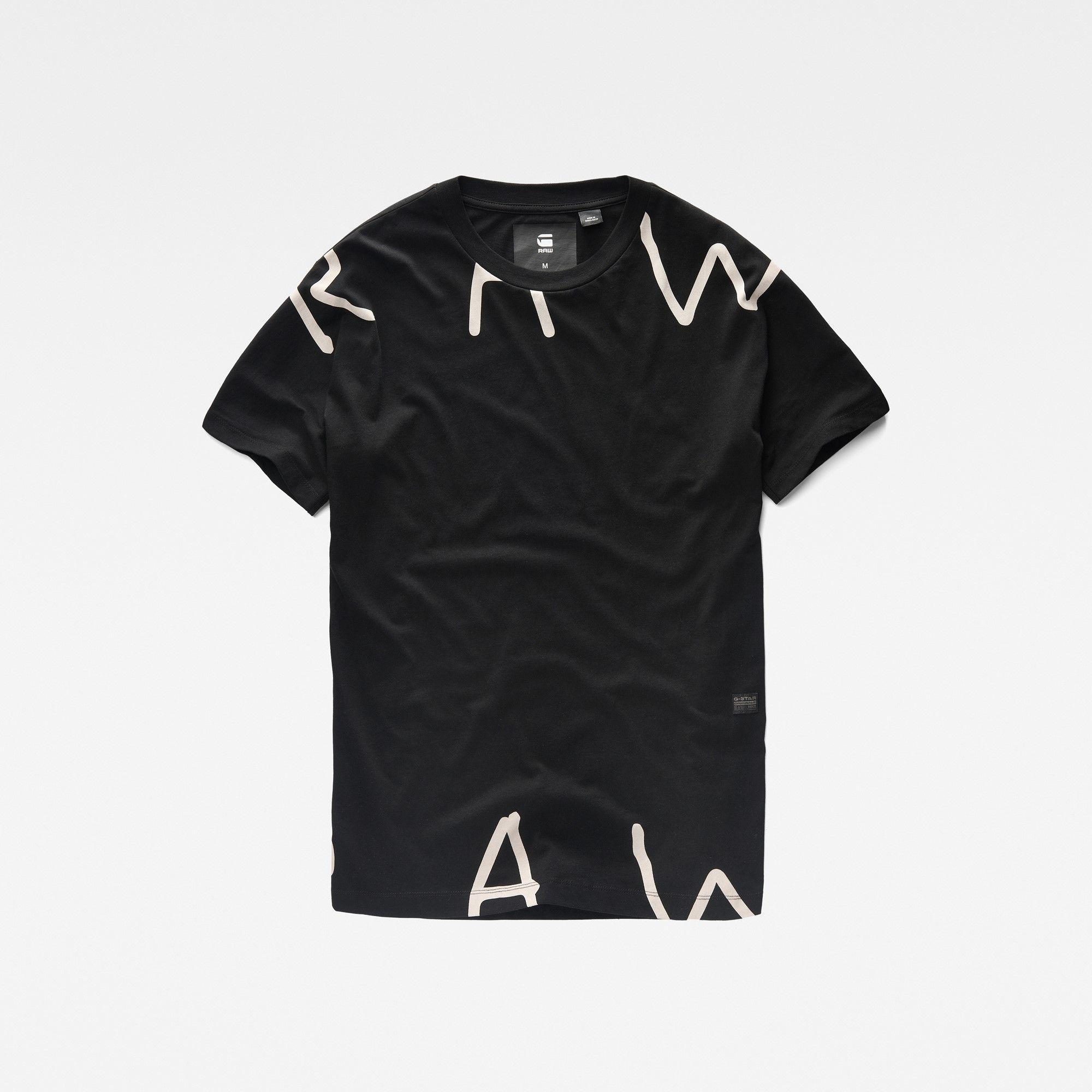 39bcb08a34 Dystix Regular Fit T-Shirt Raw Clothing, Gstar, Denim Branding, G Star