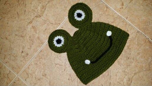 Sapo crochet